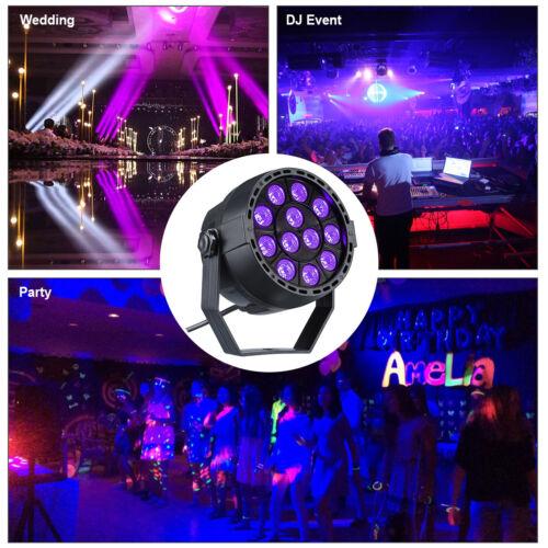 12 LED UV DMX Stage Lighting Black Light Disco Bar DJ Light Effect Spotlight AU 3