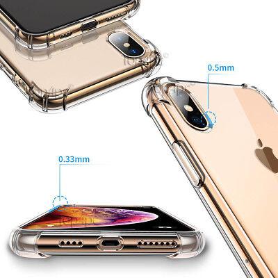 Coque Antichoc Pour Iphone Xs Max Xr X 8 7 6S 6 Plus Se 5S Silicone Renforcée