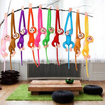 Baby Kids Soft Plush Toys Cute Colorful Long Arm Monkey Stuffed Animal Doll 5