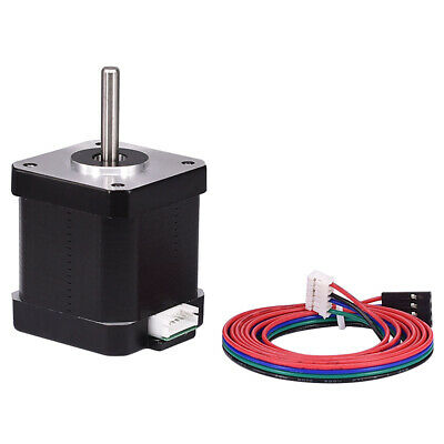 42 Stepper Motor NEMA 17 Motor 23/28/34/40/46/48/60mm for Reprap 3D Printer CNC 7