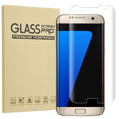 For Samsung Galaxy S6 S7 Edge Full Cover Tempered Glass Phone Screen Protector 10