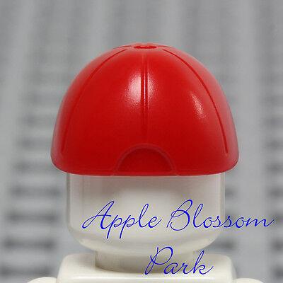 a01b57563ff ... NEW Lego Minifig RED BASEBALL CAP - Boy Girl Minifigure Sports Hat Head  Gear 9