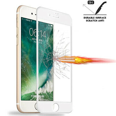 For iPhone 8 7 6S 6 Plus Caseswill FULL COVER Tempered Glass Screen Protector 8