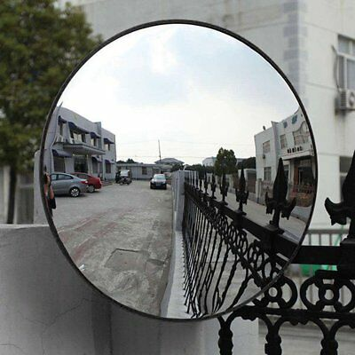 12''~24'' Road Traffic Convex Mirror Wide Angle Driveway Safety Security 3