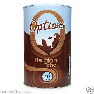 Options Belgian Choc, Luxury Hot Chocolate Drink 825g 2