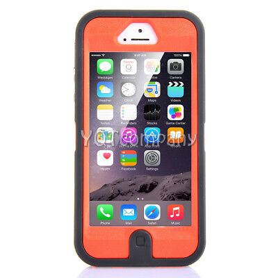 For Apple iPhone 5C 5 5S SE Shockproof Hybrid Rugged Hard Armor Case+Accessories 5