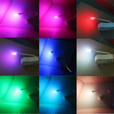 8 Colors Lamp Toilet Bowl Night Light LED Motion Activated  Seat Sensor Bathroom 3