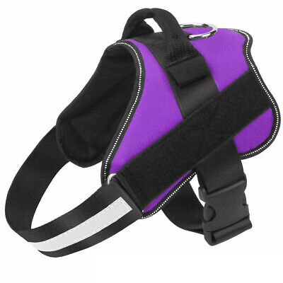Non Pull Dog Harness Outdoor Adventure Pet Vest Padded Handle Small Medium Large 9