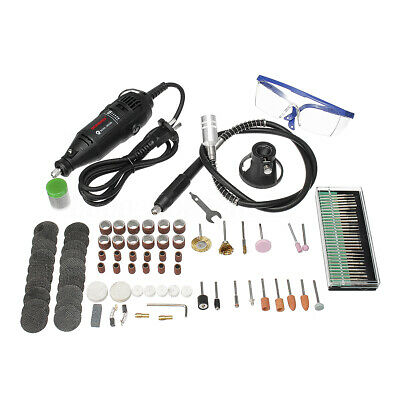 140Pc/Set Professional Mini Electric Drill Grinder Rotary Tool Engraver 4