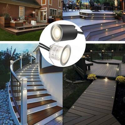 10-20X LED Bodeneinbaustrahler Bodenleuchte Einbauleuchte Außen Treppe Minispots
