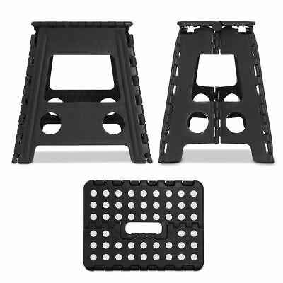 Multi Purpose Plastic Folding Step Stool Home Kitchen Easy Storage Foldable Seat 5