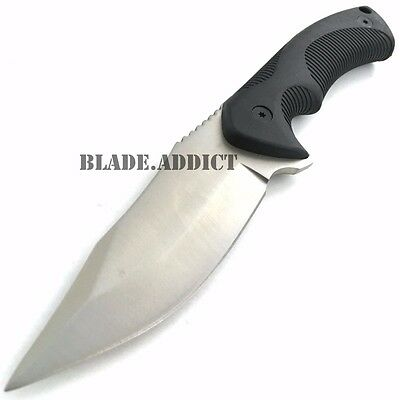 TACTICAL SURVIVAL KNIFE Hunting MILITARY BOWIE Fixed Blade Rambo Army Boot NEW 2