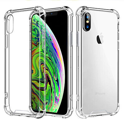 iphone xs clear hard case