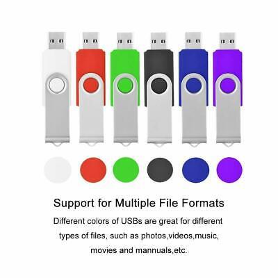 Flash Memory 64GB 32GB 16GB 8GB 4GB USB 2.0 Stick Pen Drive U Disk Swivel Key 2