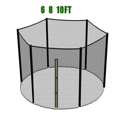 Coussin de ressort + Filet de sécurité pour trampoline 183cm 244cm 305cm 366cm 6