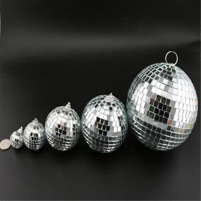 Mirror Glass Ball Disco DJ Stage Lighting Effect Party Home Decor Xmas 4-10cm 3