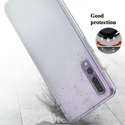 Shockproof Silicone Protective Clear Gel Cover Case For Huawei P20 Pro P Smart 3