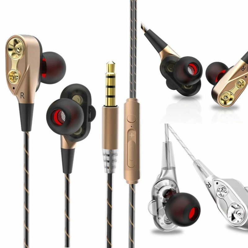 HIFI In-Ear Super Bass Stereo Earphone Earbuds Headphone Sports Headset With Mic 4