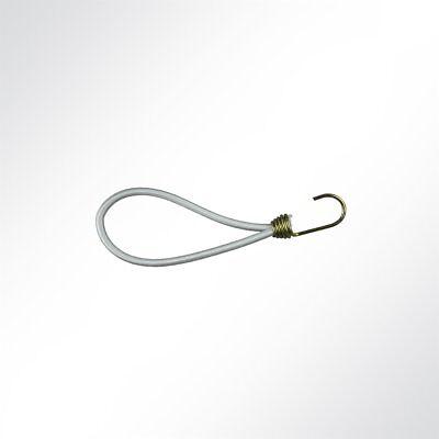 Lysel Expanderschlingen mit Spiralhaken I, (LxD) 250x6mm in weiß (10 Stück)