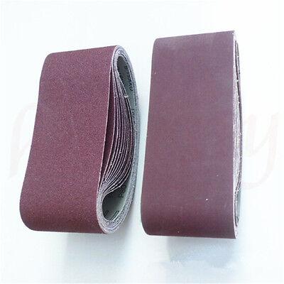 1/3/5/10pcs 533x75mm Sanding Belt 40~120 Grit Abrasive Belts Polishing Tool 7