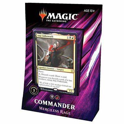 Magic Commander 2019 All 4 Decks Bundle Box 3