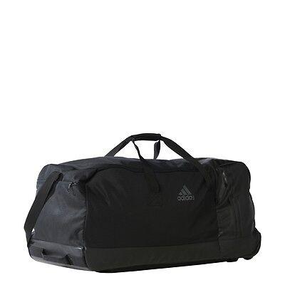 67618410eeeb ... Adidas Duffel 3-Stripes Wheeled Team Training Bag (EXTRA LARGE) AK0001 3