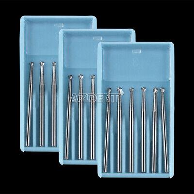 Dental Surgical Tungsten Carbide Bur Round  25mm FGXL 4/6/8 for High Handpiece 6