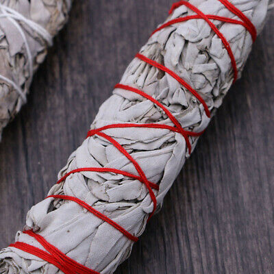 "7"" California White Sage Smudge Stick Wands House Cleansing Negativity Removal 5"