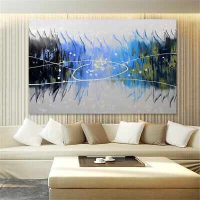 Modern Abstract Oil Painting Canvas Wall Art Poster Print Picture Home Decor 5