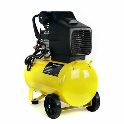 INDUSTRIAL PORTABLE 3 5HP Air Compressor Tank Pneumatic Motor 125 PSI 10  Gallon
