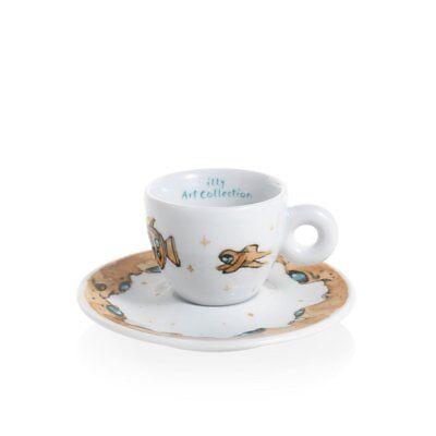 ILLY Collection 2018 MAX PETRONE 6 Tazzine Espresso Tazze Numerate e Firmate 7