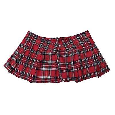 Damen Mini Rock Kurz Schulmädchen Röcke Kostüm Frauen Nachtwäsche Reizvolle Sexy 5