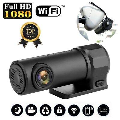 170° 1080P Wifi Car Hidden Camera DVR Video Dash Cam Recorder Night Vision AU 3