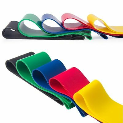 Resistance Bands Loop Set of 5 Exercise Workout CrossFit Fitness Yoga Booty Band 3