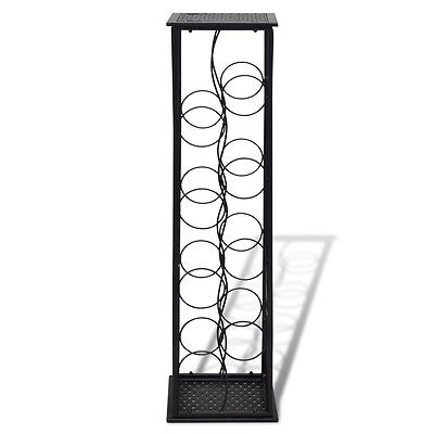 8 Metal Wine Bottle Holder Holding Collection Shelf Cabinet Cellar Storage Rack 3 • AUD 49.95
