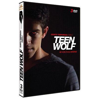 Pelicula Dvd Pack Serie Tv Teen Wolf Temporadas 3Parte1+T4+T5 Precintadas 9
