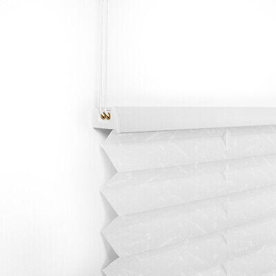 Plissee Jalousie Klemmfix für Fenster Faltstore Rollos ohne Bohren Sichtschutz 5