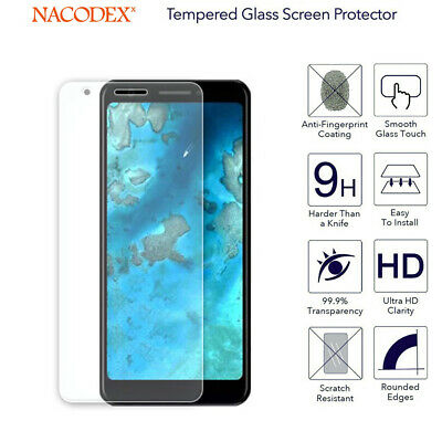 2-Pack For Google Pixel 3A Tempered Glass Screen Protector 2