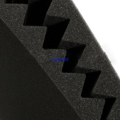 """48 Pack 12"""" X 12"""" X 1""""Acoustic Foam Panel Wedge Studio Soundproofing Wall Tiles 5"""