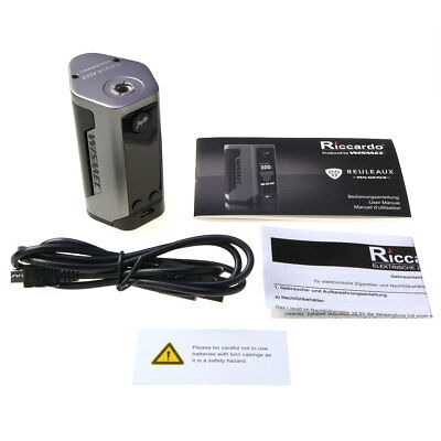 WISMEC Reuleaux GEN3 RX Akkuträger 300 Watt - Box Mod E-Zigarette Akku E-Liquid 10