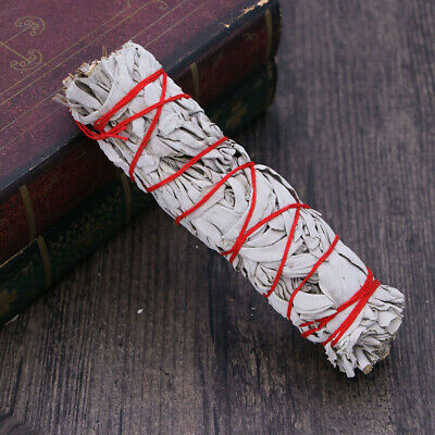 "7"" California White Sage Smudge Stick Wands House Cleansing Negativity Removal 4"
