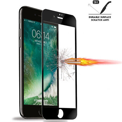 For iPhone 8 7 6S 6 Plus Caseswill FULL COVER Tempered Glass Screen Protector 7