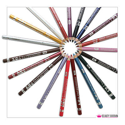 12 Lápices De Ojos 12 Diversos Colores Delineador De Ojos Eye Liner Impermeable