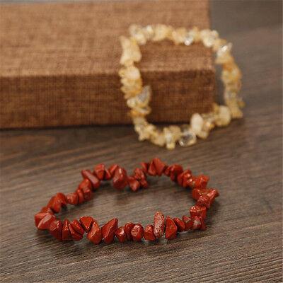 Charme Reiki Guérison Bracelets Pierre Cristal Puce Perlé Bracelet Cadeau 6