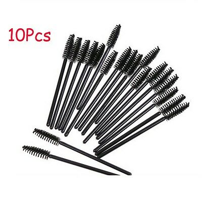 10PCS Professional Oblique Design Rotate Eyebrow Brush Cosmetic Brow Brush AV