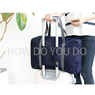 Portable Foldable Travel Storage Luggage Carry-on Big Hand Shoulder Duffle Bag 9