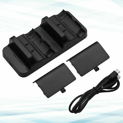 For XBOX ONE Dual Charging Dock Station Controller Charger Rechargeable Battery 9