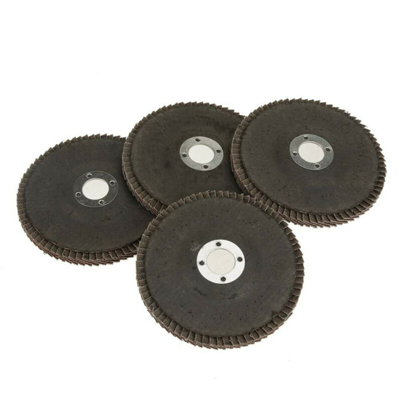 50pcs Abrasive 5''125MM Metal Sanding Flap Disc Angle Grinder 40 Grit AU Stock 5