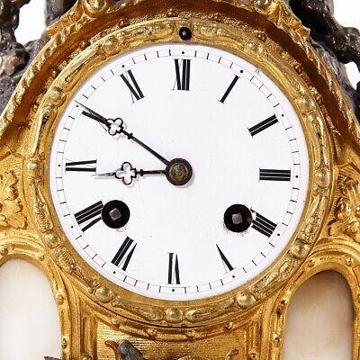 Mantel Clock 1900's 3