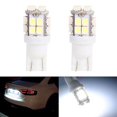 10x T10 20-SMD LED White Super Bright Car Lights Bulb - 194 168 2825 W5W
